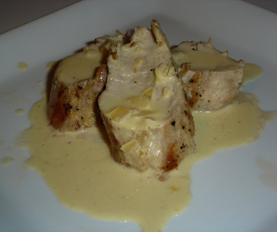 Cooking with Ali: Pork Tenderloin with Mustard Cream Sauce
