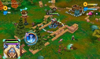 Screenshots of the Battle of heroes: Land of immortals for Android tablet, phone.