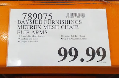 Bayside Furnishings Metrex Mesh Chair - comfort at the office