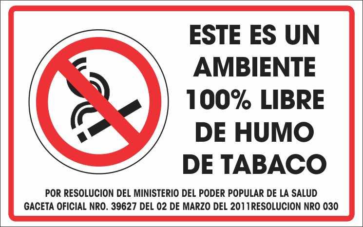 ley de fumar: