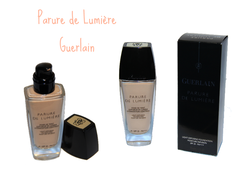 les petites aventures de julia make up le fond de teint parure de lumi re de guerlain qui. Black Bedroom Furniture Sets. Home Design Ideas