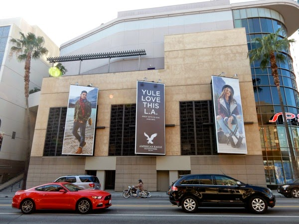 American Eagle Outfitters Yule billboards