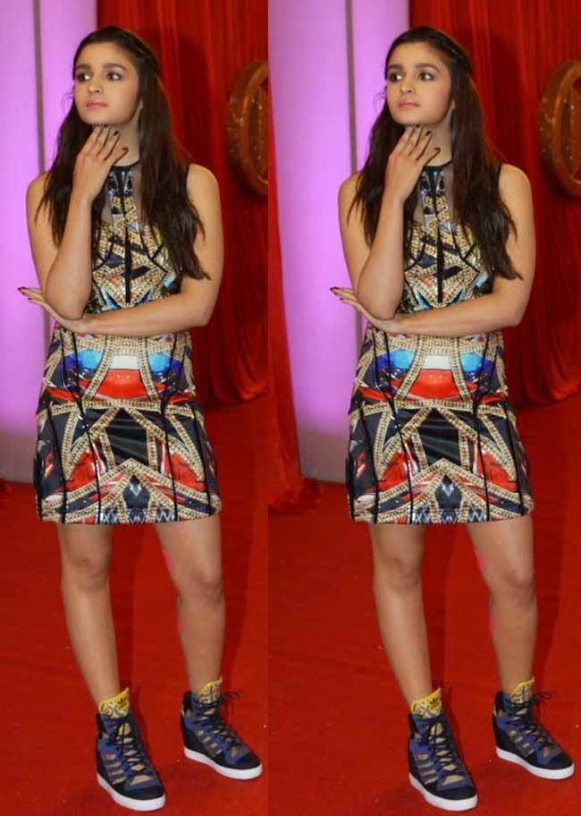 Alia Bhatt at Big Life Ok Now Awards 2014
