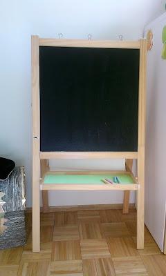 tablica IKEA przemalowanie