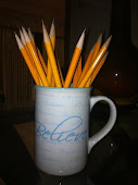A bouquet of sharpened pencils!