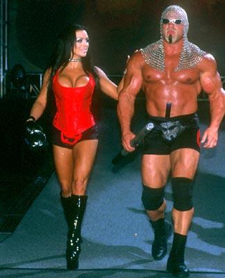 Strength Fighter Scott Steiner Biceps