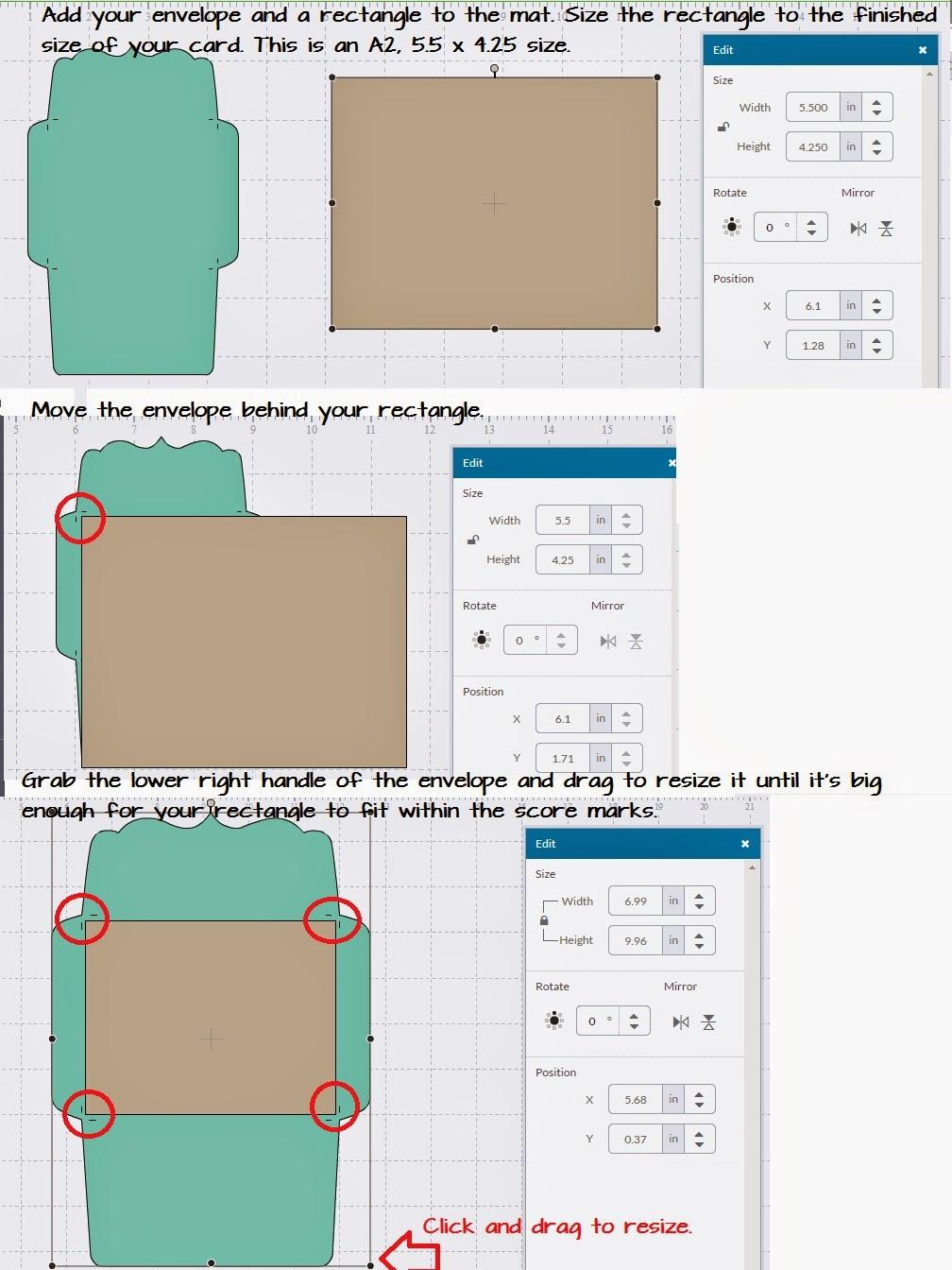 Card Size Envelope Engneforic