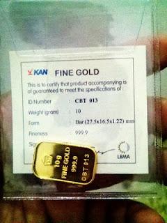 Cara Beli Emas Dengan Mencicil di Pegadaian