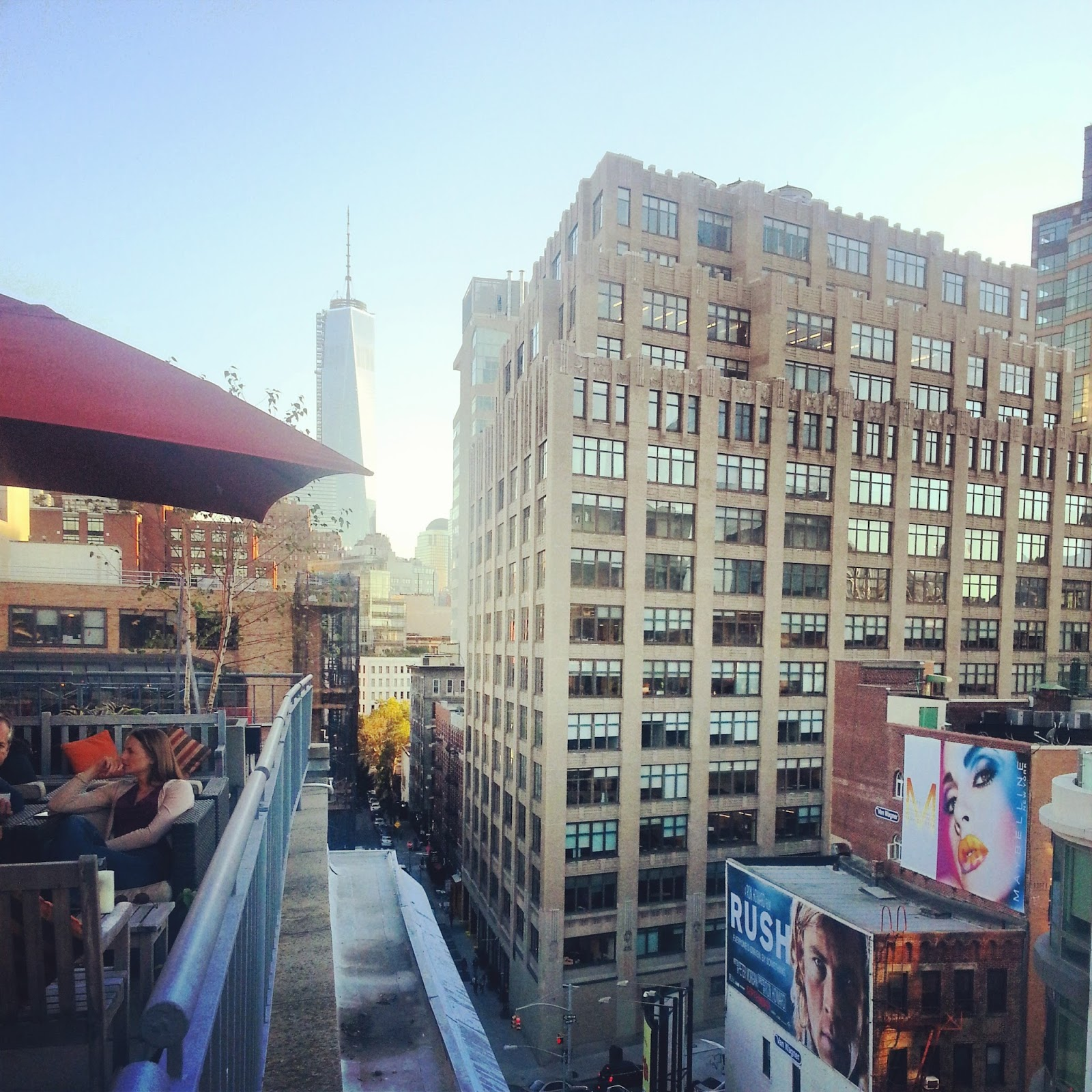 View from Pera Soho Rooftop  | Good things, lately on *sparklingly  |  http://sparklingly.blogspot.com