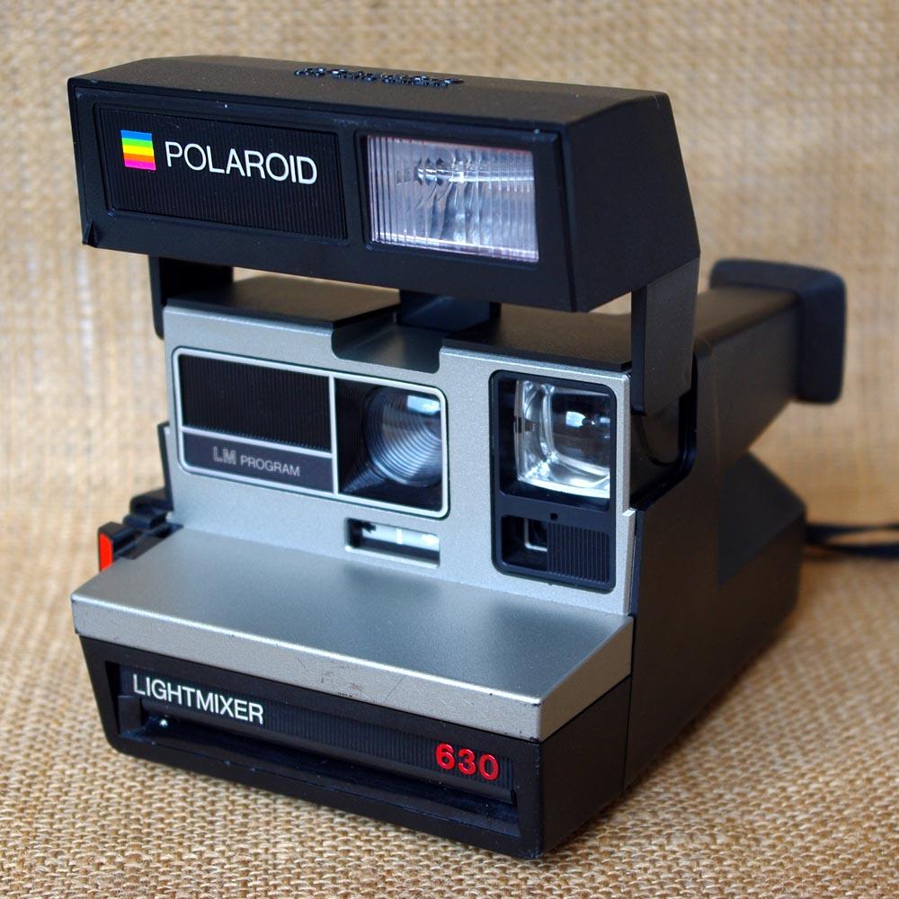 il blog di carmela polaroid 630 lightmixer 1984. Black Bedroom Furniture Sets. Home Design Ideas