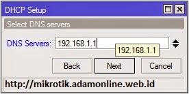 DNS Server of DHCP Server