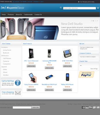 Premium Magento ecommerce Template