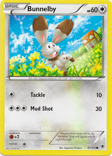 Bunnelby Phantom Forces Pokemon Card