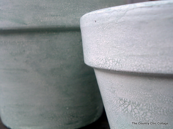 how to make terracotta pots look old