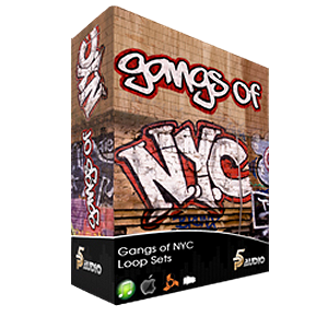 P5Audio Gangs Of LA Construction Loop Sets WAV (1 cd)