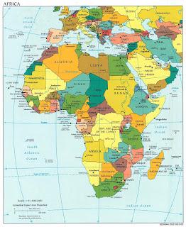 Países de África