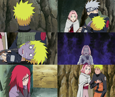 Back to Naruto, Sakura seems pretty relieved learning that her resolve ...