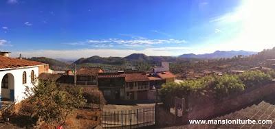 En Tacámbaro, vista panorámica desde el Santuario de Fátima