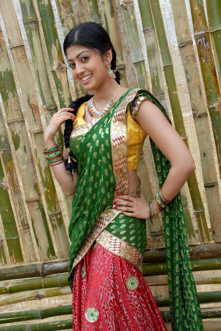 Pranitha Stills in Saree