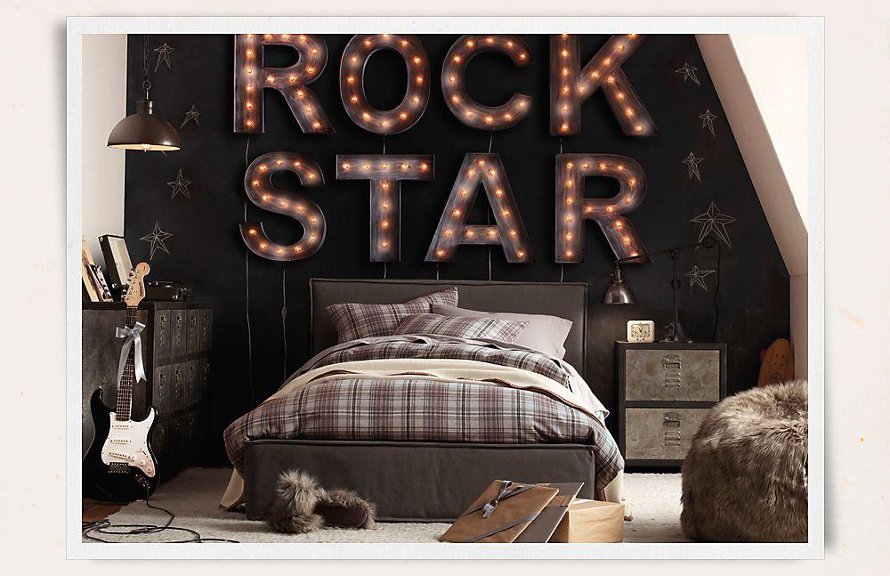 Decoraci n f cil dormitorio juvenil para ellos - Decoracion dormitorio juvenil chico ...