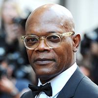 Samuel L. Jackson Bald Actor