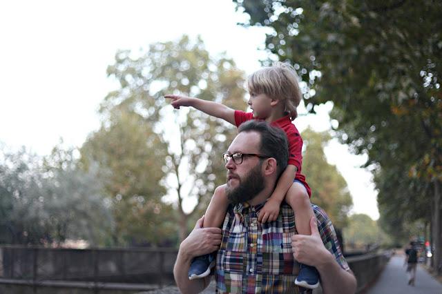Family travel in Paris
