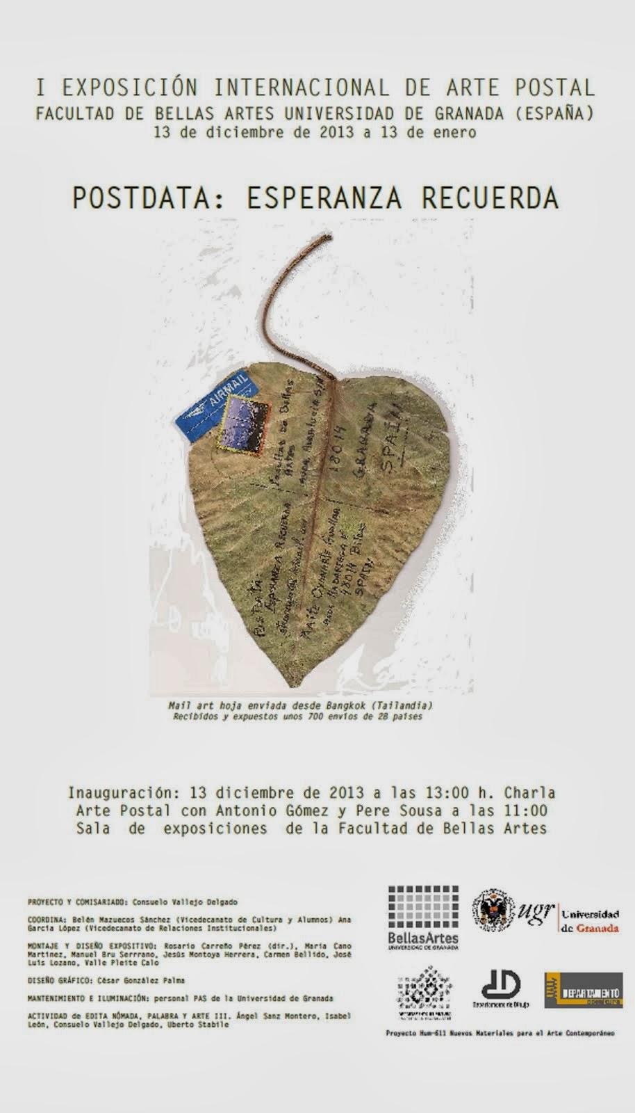 Exposición Internacional de Arte Postal