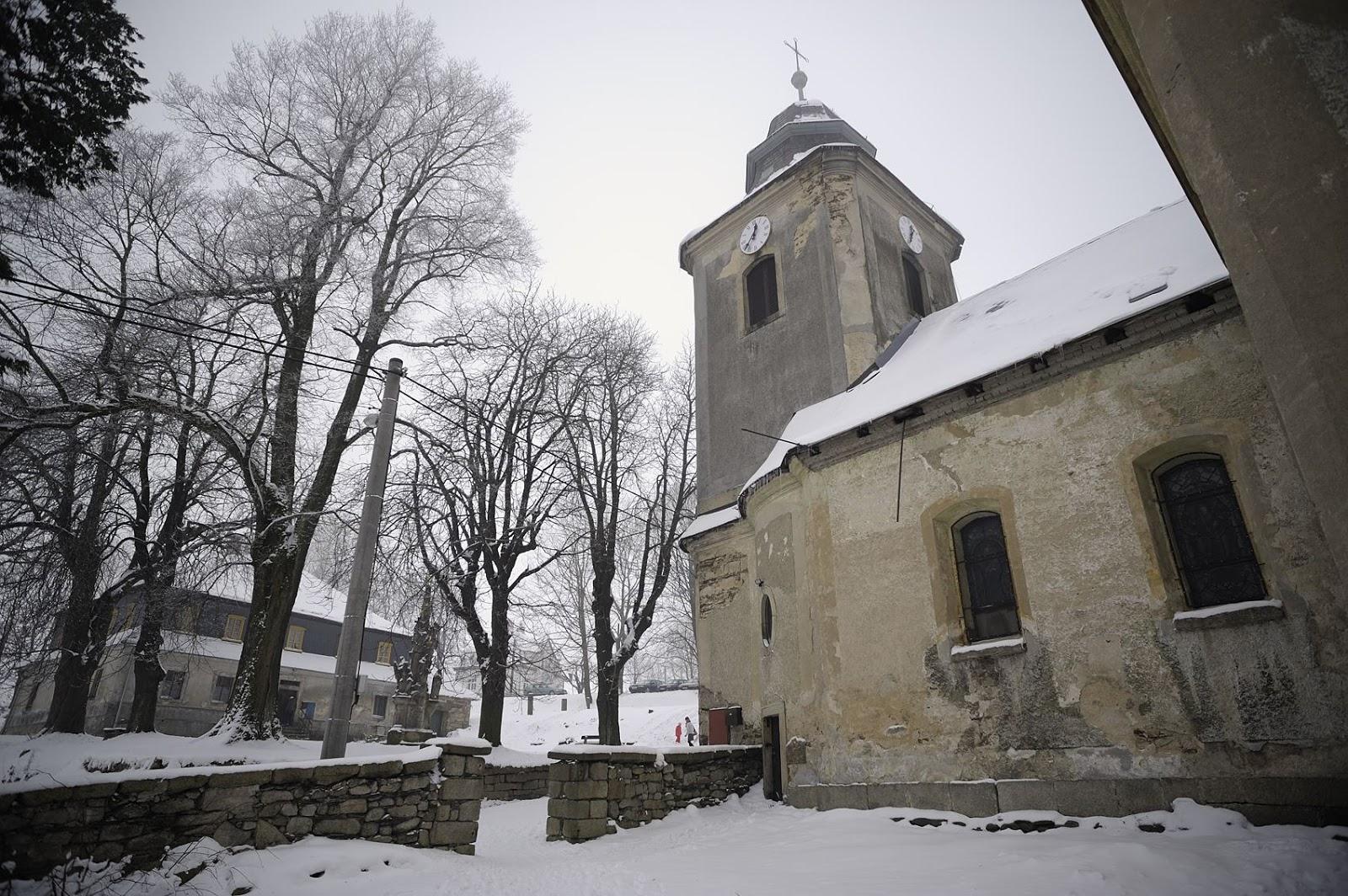 Kostel sv. Jakuba na Krásné, autor: Pavel Hála, 2010