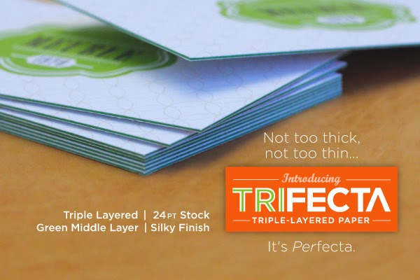 Gotrint Trifecta Triple-Layered Paper