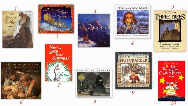 Such Stuff My Top 10 All Time Favorite Christmas Books