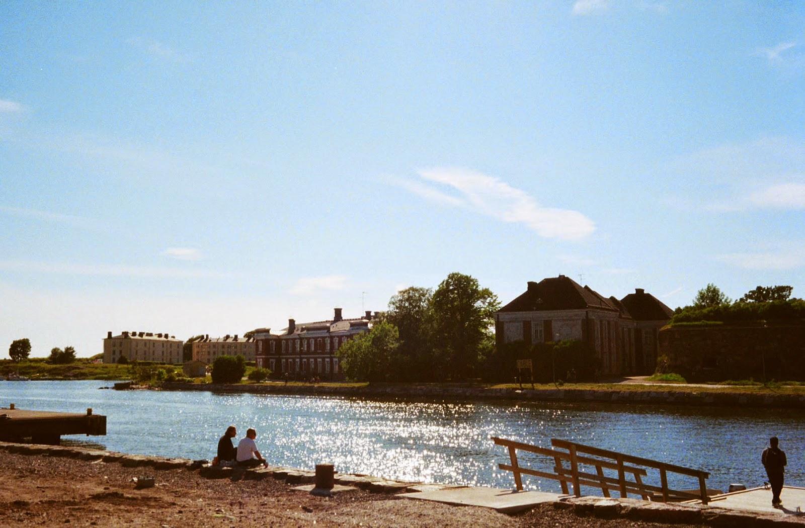 Suomenlinna Finland summer