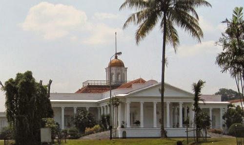 Objek Wisata Istana Bogor
