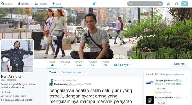 Cara Mengaktifkan Tampilan Baru Profile Twitter 2014