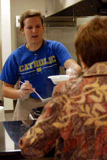 Montgomery Catholic Students Assist with Empty Bowls Project 1