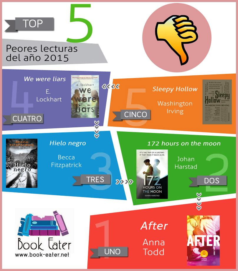 Peores lecturas del 2015