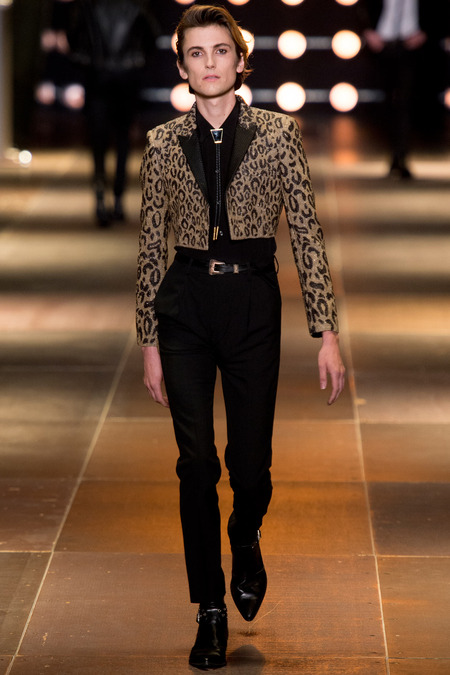 Zachary Cole Smith - DIIV - Saint Laurent Spring/Summer 2014 fashion show
