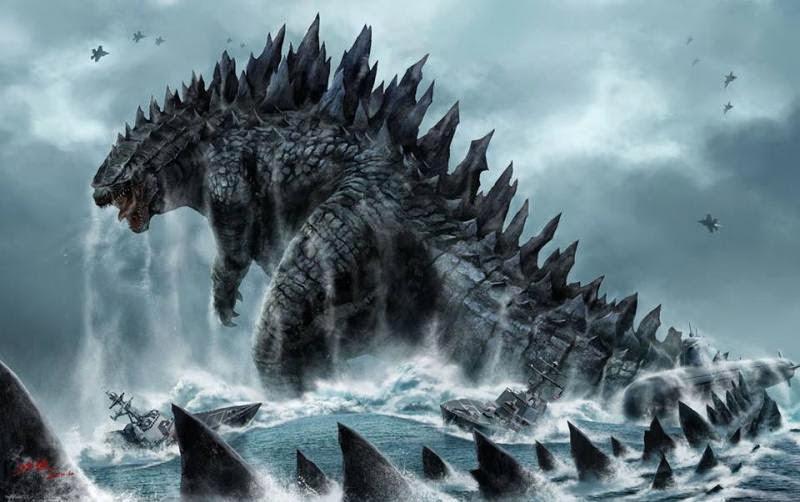 Gambar Godzilla Film Terbaru 2014 Godzilla vs MUTO