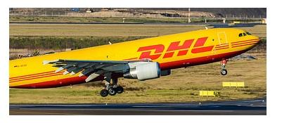 DHL lentorahti kulkee postilakoista huolimatta
