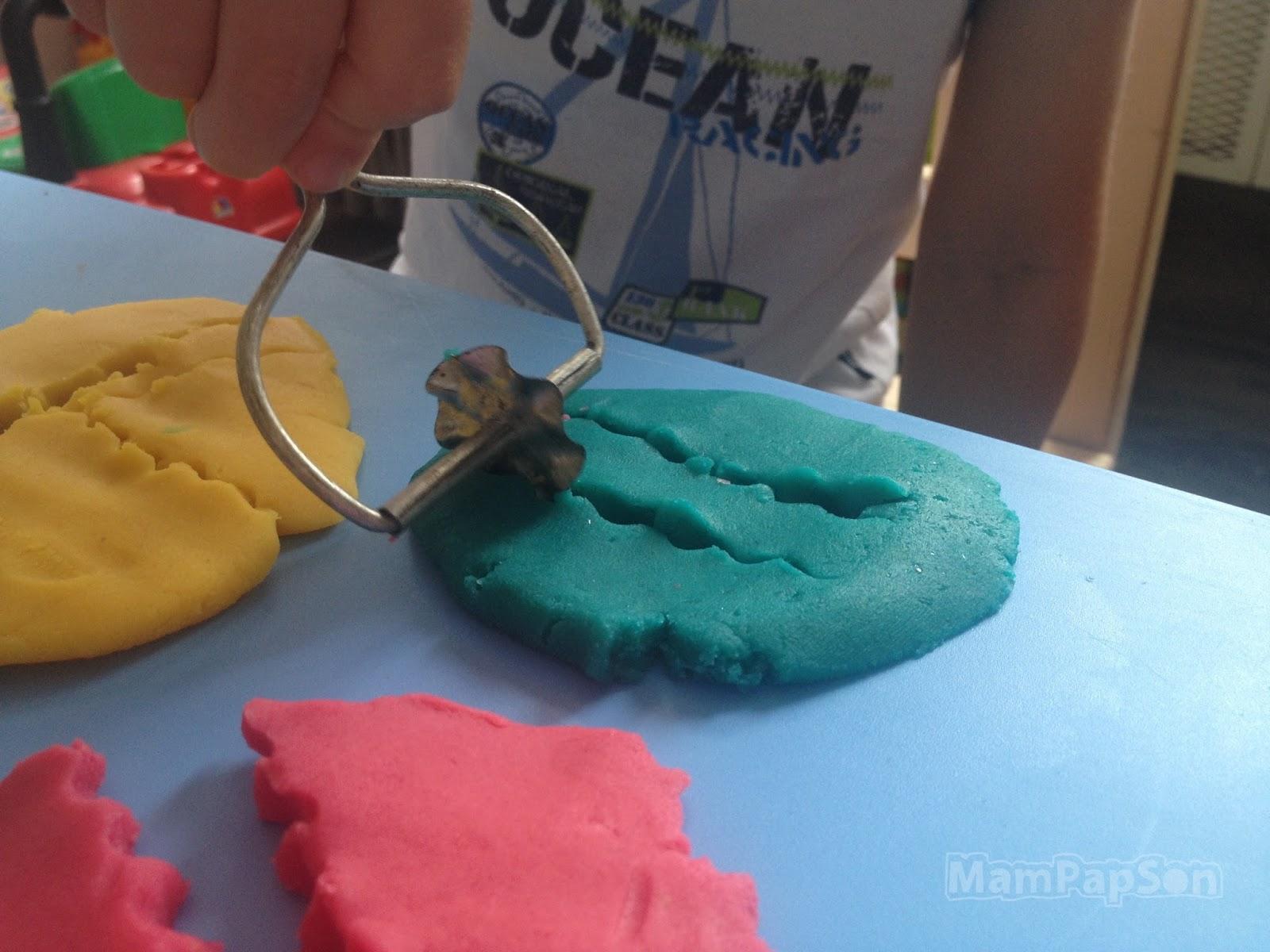 Как делать ногти из пластилина фото