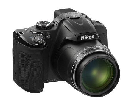 Nikon CoolPix P520 Lens