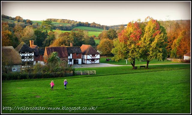running down hill - Weald and Downland Open Air Museum