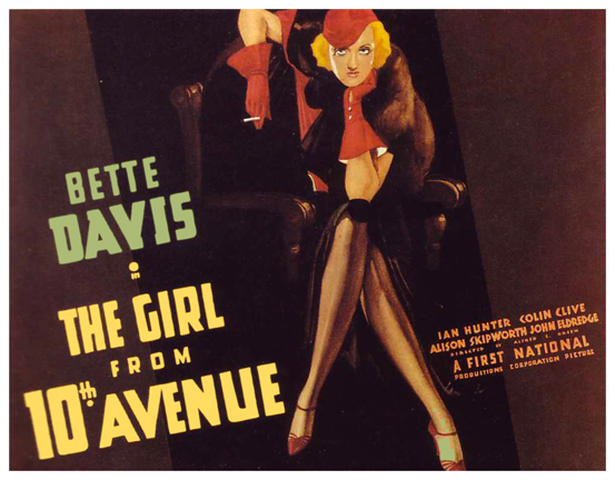 The Girl from 10th Avenue Lauras Miscellaneous Musings Tonights Movie The Girl From 10th