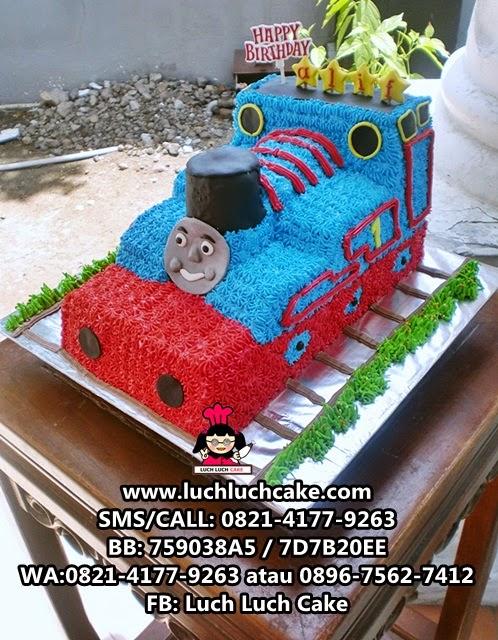 Thomas The Tank Engine 3d Cake Daerah Surabaya - Sidoarjo