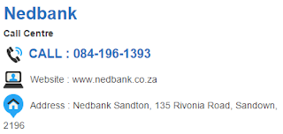 Nedbank Customer Service Number South Africa