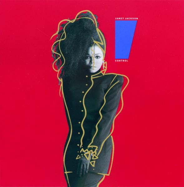 Control Janet Jackson Album Cover That's what janet jackson did