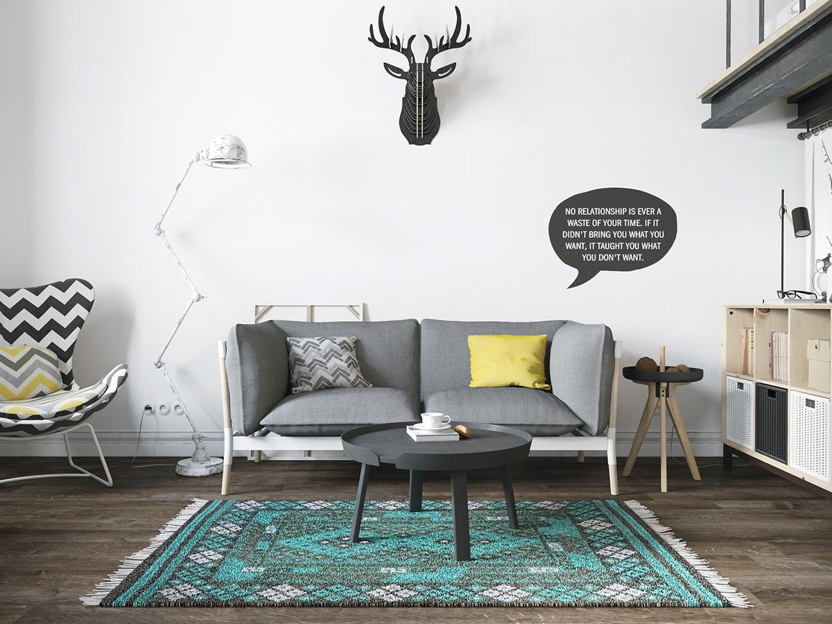Como decorar una casa con estilo n rdico ejemplo gr fico - Casas estilo nordico ...