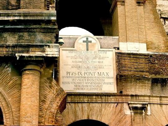 Flavian Amphitheater entrance