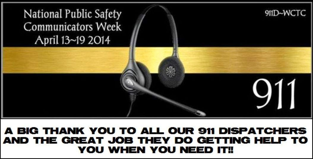 Thank You 911 Dispatchers