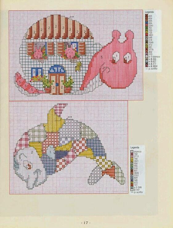 Схемы для пэчворк с вышивкой 187