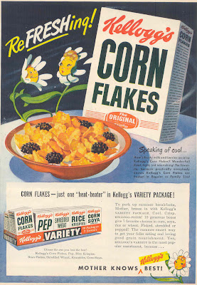 gold country girls: Kellogg's Corn Flakes, Revisited